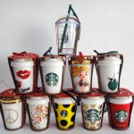 Coffee Cup Christmas Ornaments
